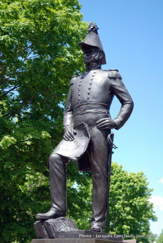 Monument au colonel John By, parc Major's Hill, Ottawa, Ontario
