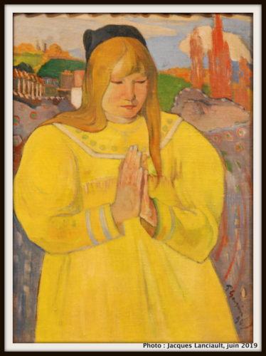 Jeune chrétienne, Paul Gauguin, Musée des beaux-arts du Canada, Ottawa, Ontario