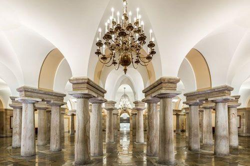 Crypte, Capitole des États-Unis, Washington D.C., États-Unis