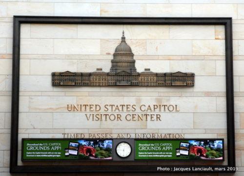 Visitor Center, Capitole des États-Unis, Washington D.C., États-Unis