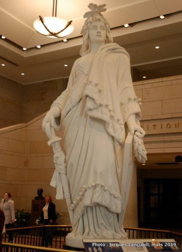 Statue de la Liberté, Capitole des États-Unis, Washington D.C., États-Unis