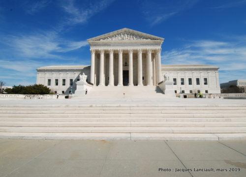 Cour suprême des États-Unis, Washington D.C., États-Unis