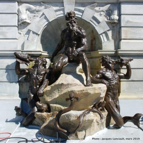 La cour de Neptune, Jefferson Building, Washington D.C., États-Unis
