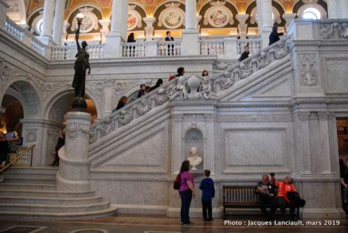 Bibliothèque du congrès, Washington D.C., États-Unis