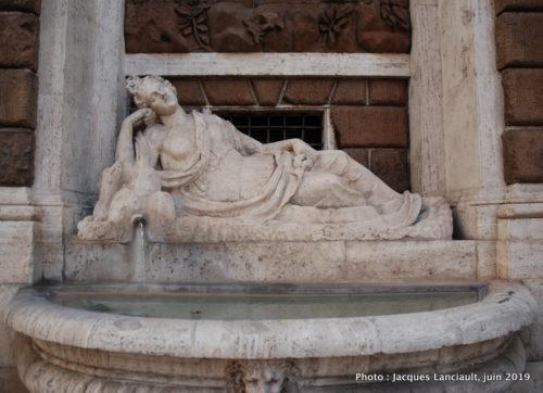 Via delle Quattro Fontane, Rome, Italie