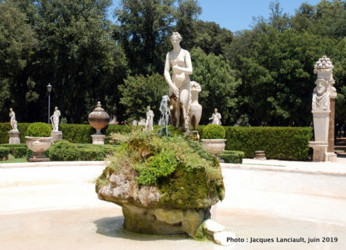 Jardin du Palazzo Borghese, Rome, Italie