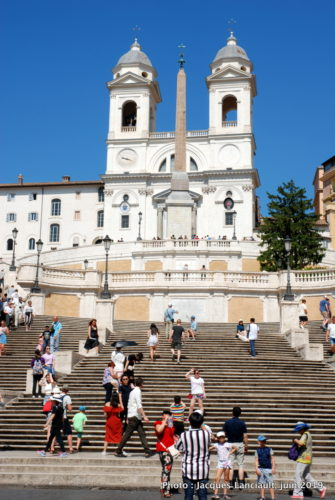 Place d'Espagne, Rome, Italie