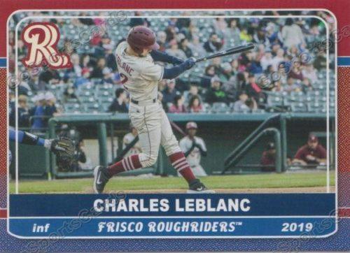 Charles Leblanc, RoughRiders de Frisco