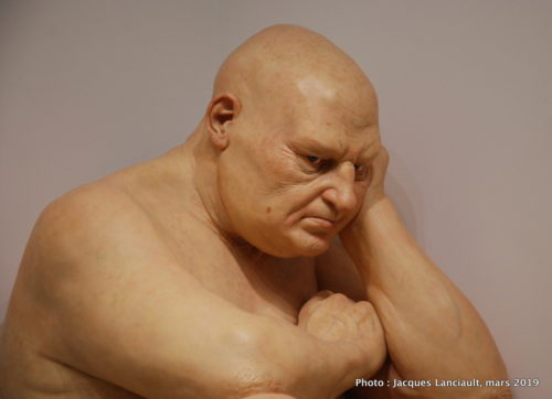 Big Man, Ron Mueck, Hirshhorn Museum, Washington D.C., États-Unis
