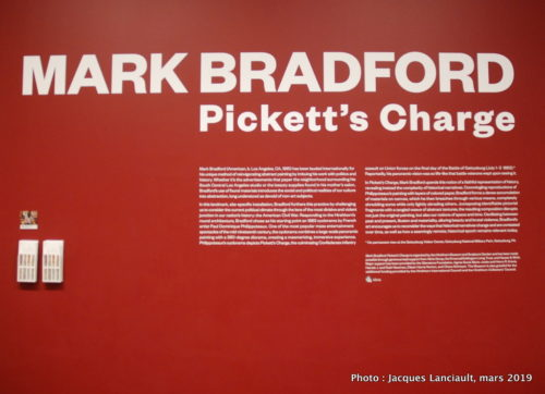 Pickett's Charge, Mark Bradford,  Hirshhorn Museum, Washington D.C., États-Unis