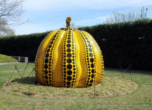 Pumpkin, Yayol Kusama, Hirshhorn Museum, Washington D.C., États-Unis