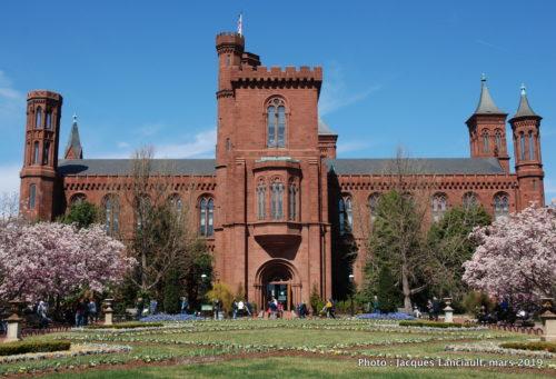 Château du Smithsonian, Washington, D.C., États-Unis