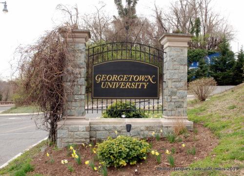 Georgetown University, Washington D.C., États-Unis