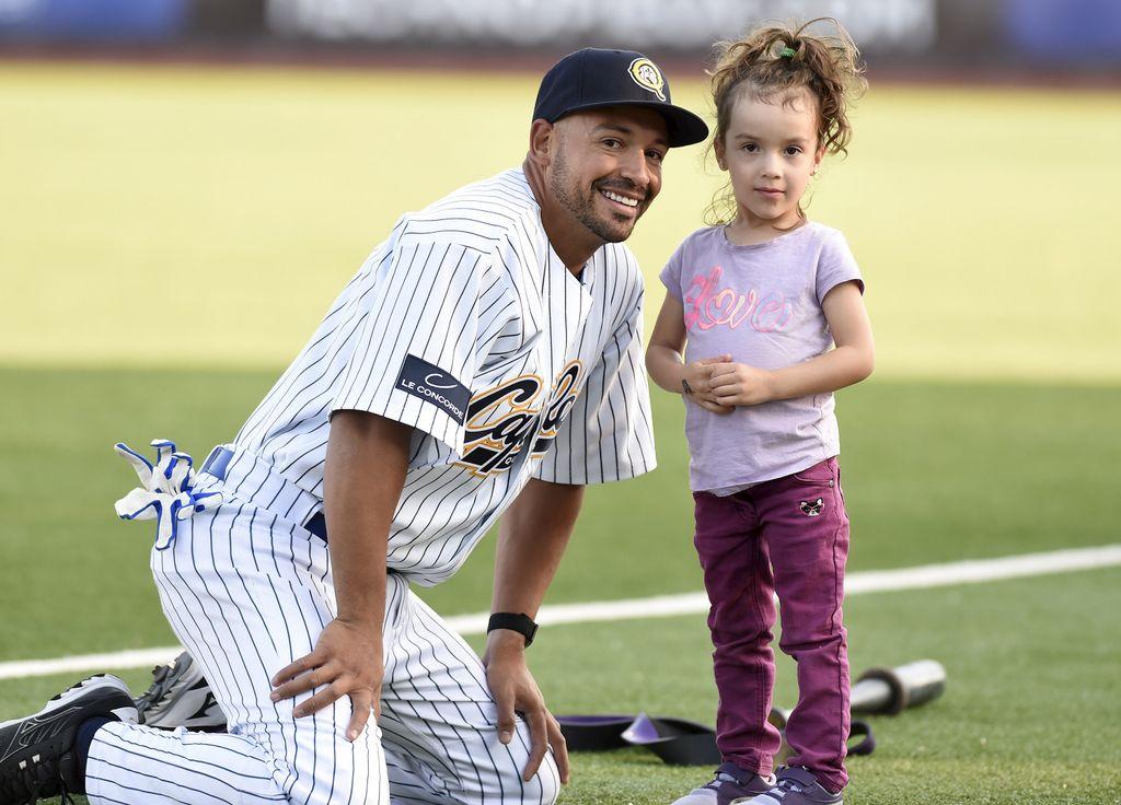 Josué Peley et sa fille que sa fille Nayla.