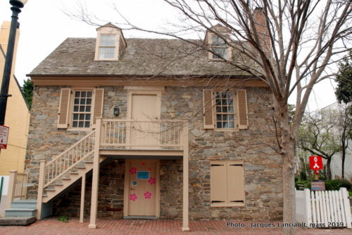Old Stone House, Quartier Georgetown, Washington D.C., États-Unis