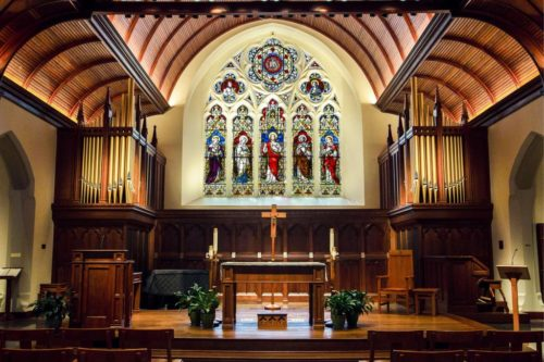 Dahlgren Chapel, Georgetown University, Washington D.C., États-Unis
