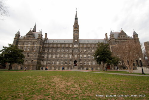 Heally Hall, Georgetown University, Washington D.C., États-Unis