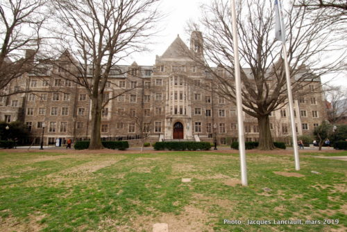 Copley Hall, Georgetown University, Washington D.C., États-Unis