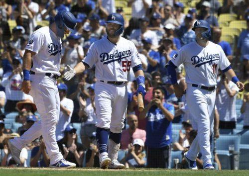 Russell Martin, Dodgers de Los Angeles