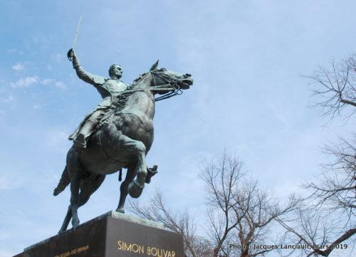Monument Simón Bolívar, Washington D.C., États-Unis