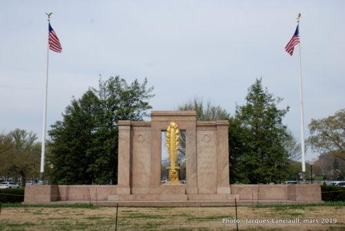 Monument de la deuxième division, Washington D.C., États-Unis