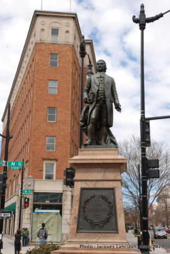 Monument John Witherspoon, Washington D.C., États-Unis