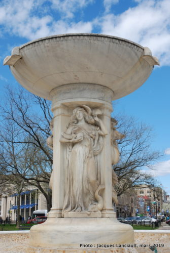Fontaine Dupont Circle, Washington D.C., États-Unis