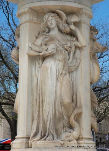 Fontaine Dupont Circle, Washington D.C., États-Unis