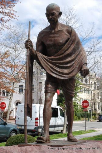 Mémorial au Mahatma Gandhi, Washington D.C., États-Unis