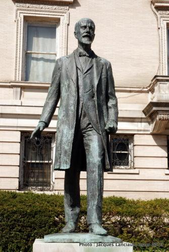 Monument Eleftherios Venizelos, Washington D.C., États-Unis