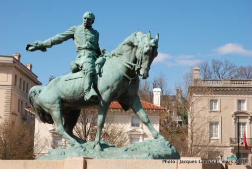 Statue équestre de Philip Sheridan, Washington D.C., États-Unis