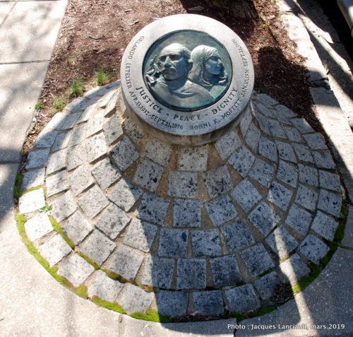 Mémorial Letelier-Moffit, Washington D.C., États-Unis