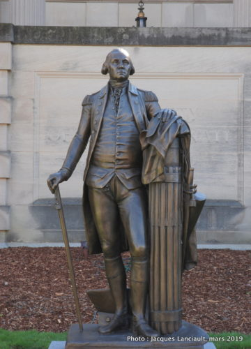 Statue de George Washington, Washington D.C., États-Unis