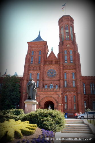 Smithsonian Institution Castle, Washington D.C., États-Unis