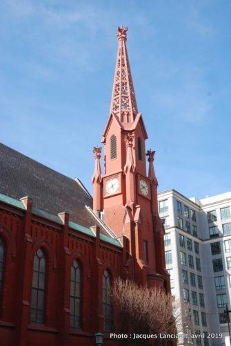 The Calvary Baptist Church, Washington D.C., États-Unis