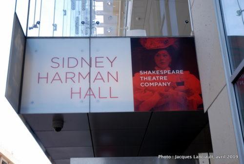 Sidney Harman Hall, Chinatown, Washington D.C., États-Unis