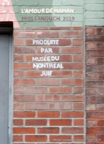 L'amour de maman, Miss Lanouch, rue Saint-Dominique, Montréal, Québec