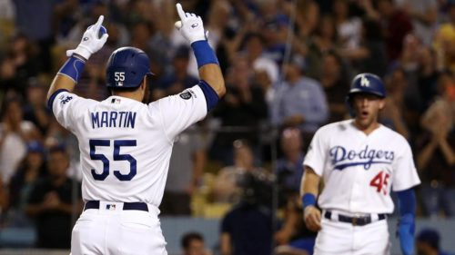 Russell Martin, Dodgers de Los Angeles
