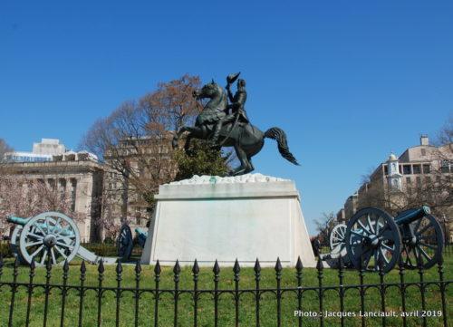 Statue équestre d'Andrew Jackson, Washington D.C., États-Unis