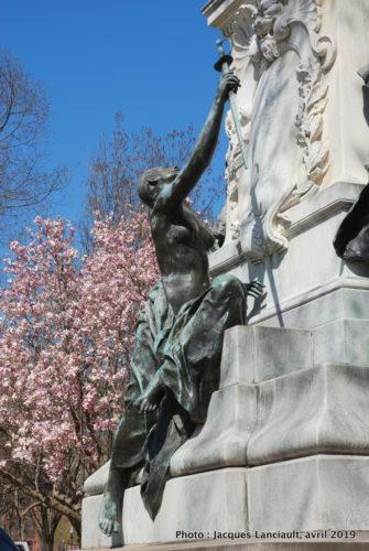 Monument au marquis de de Lafayette, Washington D.C., États-Unis