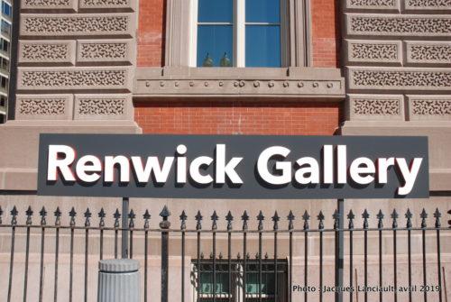 Renwick Gallery, Washington D.C., États-Unis