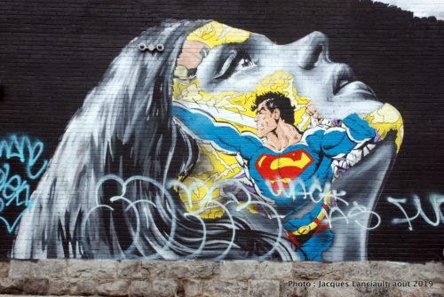 Superman, Sandra Chevrier, Montréal, Québec