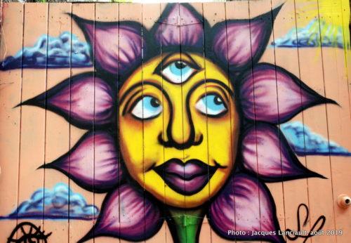 Graffitis, tags, Plateau Mont-Royal, Montréal, Québec