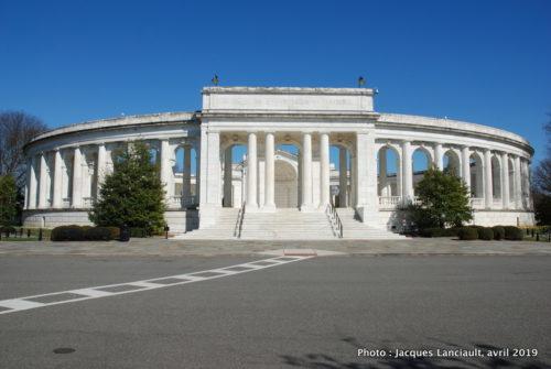 Amphithéâtre du cimetière national d'Arlington, Arlington, Virginie, États-Unis