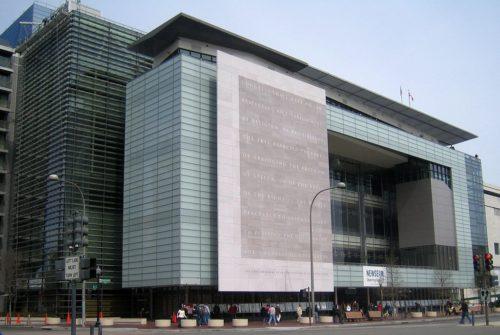 Newseum, Washington D.C., États-Unis