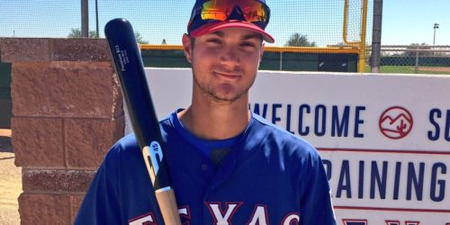 Charles Leblanc, Rangers du Texas