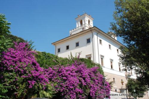 Jardin du Pincio, parc de la Villa Borghese, Rome Italie