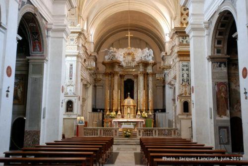 Chiesa della Santissima Trinità dei Monti, Rome, Italie