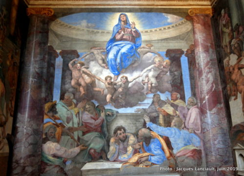 L'Assomption de la Vierge Marie, Chiesa della Santissima Trinità dei Monti, Rome, Italie