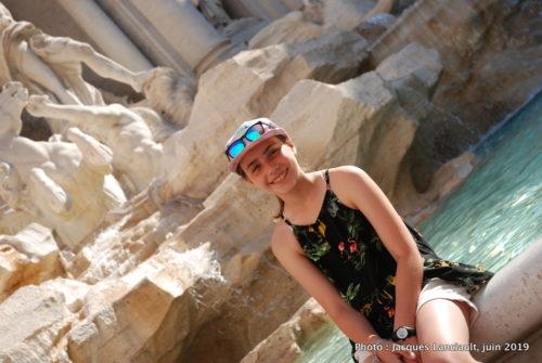 Fontaine de Trevi, Rome Italie